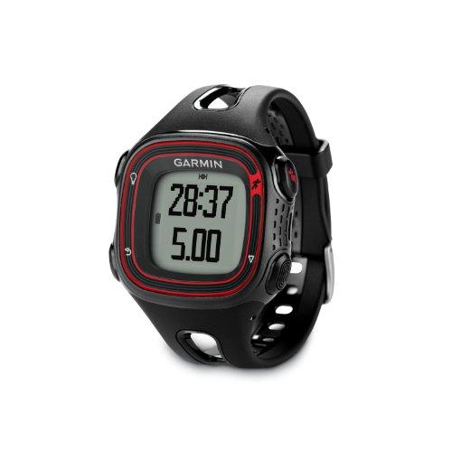 Garmin Forerunner 10 GPS Watch Black/Red (Certified Refurbished)