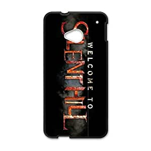 HD Beautiful image for HTC One M7 Cell Phone Case Black silent hill game 1680 945 16627 HOR8295611