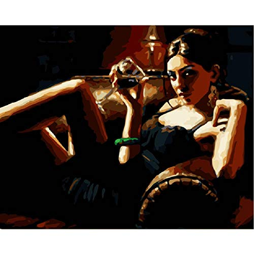Classic Jigsaw Puzzle 1000 Pieces Wooden Puzzle Sexy Seductive Sofa Beauty Wedding Decoration Art Picture Gift Creative Crafts 75X50Cm (Sofa History Of)