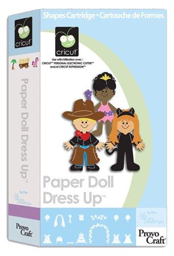 Cricut Cartridge, Paper Doll Dress Up ()