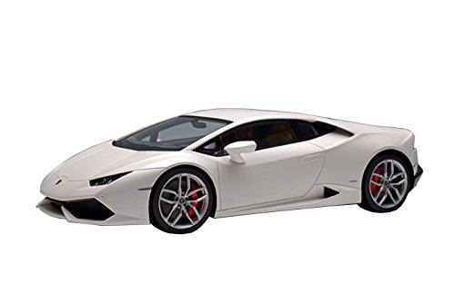 メイクアップ EIDOLON 1/18 ランボルギーニ ウラカン LP610-4 2014 マットパールホワイト 完成品 B00PAG42E4