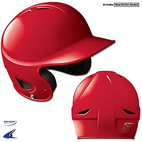 CHAMPRO Gem Gloss Performance Batting Helmet Helmet 6 1 2 7 1 4 Youth Black 6 1//2-7 1//4 Champro Sports H4G