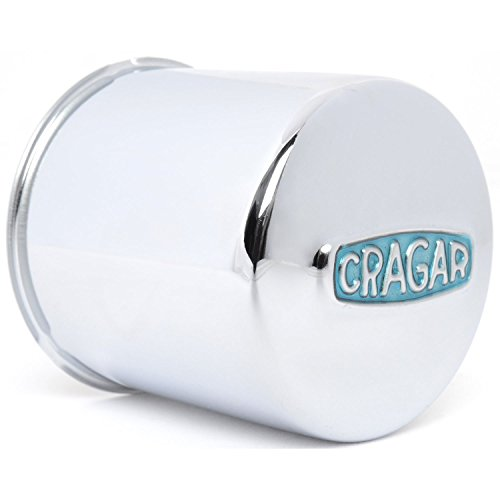 Cragar 29270-1 Blue Cragar Logo Center Cap 3.3