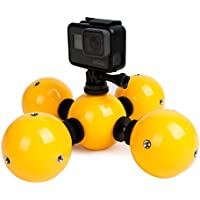 TELESIN Special-Designed Bright-Color Waterproof Float Ball For GoPro Hero 4 Session Black Silver Hero 2 3 3+ 4 5/Polaroid/Xiaomi YI 4K Camera-Save Your Camera from Sinking & Help Photograph in Water