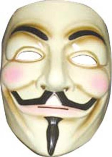 V for Vendetta Mask (Cheap Halloween Costumes Male)