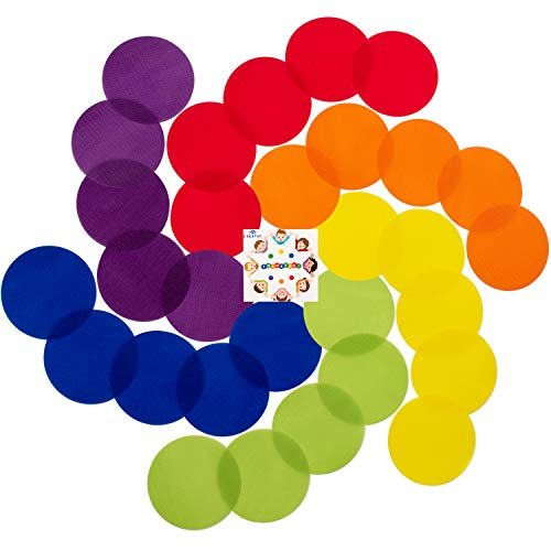 CIGI Fun Carpet Spots Markers for Classroom Floor - 5
