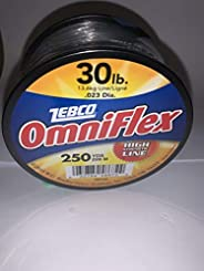 30lb Test Omniflex Monofilament Fishing Line 250 Yards