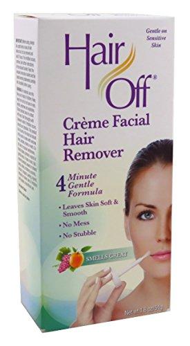 Hair Off Facial Hair Removal Creme 1.8oz (2 Pack)