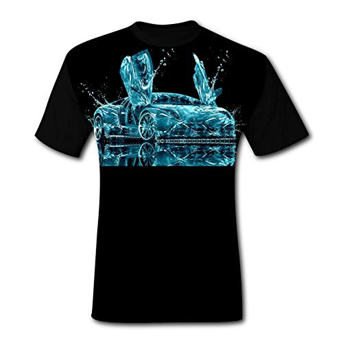 4885ec3caf KAIvvv-47 Men's Abstract Water Lam-borghini T-Shirts Adult 3D Print Short