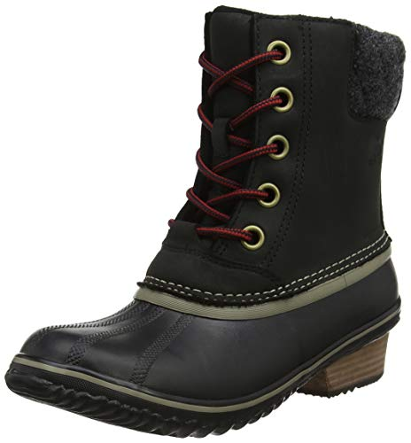 Lace Black Kettle Slim Ii Pack Boots Women's Sorel YX0Bv0
