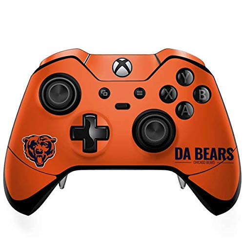 (Skinit Chicago Bears Team Motto Xbox One Elite Controller Skin - Officially Licensed NFL Gaming Decal - Ultra Thin, Lightweight Vinyl Decal Protection)