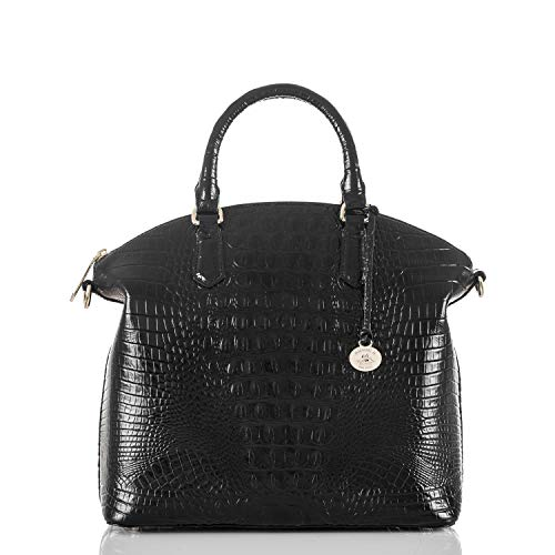 Brahmin Large Duxbury Satchel, Black, One Size from Brahmin