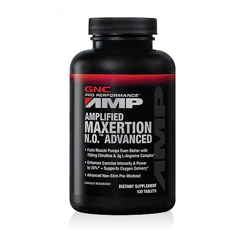 GNC Pro Performance AMP Amplified Maxertion N.O. Advanced