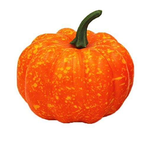 Boomboom Halloween Fake Artificial Pumpkin Props Garden Home (Halloween Sales 2017 Steam)