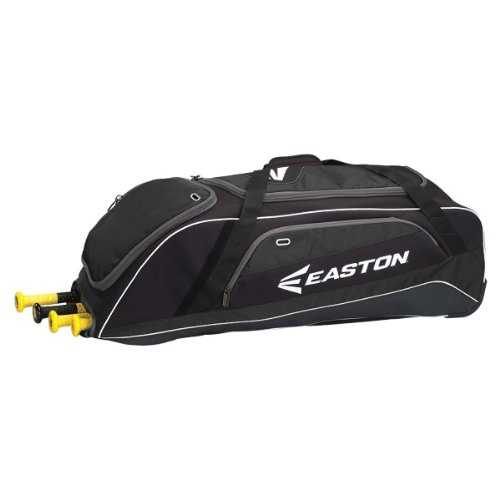 Easton E500W Wheeled Bag, Black (Easton Wheeled Baseball Bag)