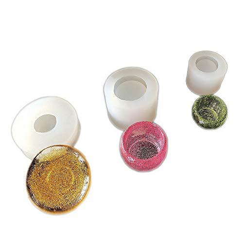 (3 pcs/Set Epoxy Resin Molds,Small Dish,Big Bowl,Silicone Molds,Transparent Jewelry Mold Making Tools, DIY Pendant Make,Gifts Handcraft Q100/Q099/Q098)