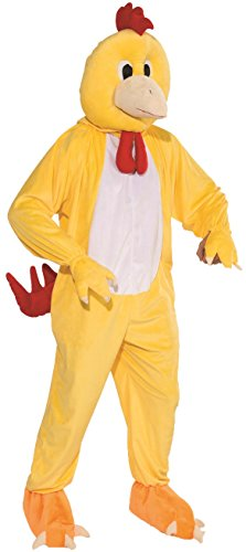- Forum Novelties Men's Chicken Mascot Costume Outfit Suit Comical Halloween One Size Fits Most Yellow