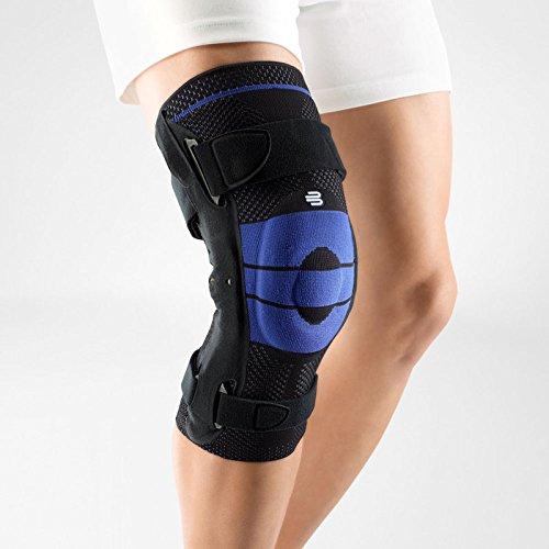 Genutrain Black Active Knee Support - Bauerfeind 11041350070605 Genutrain S Pro Knee Support, Right, Size 5, 19-3/4