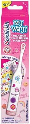 Spinbrush For Kids Battery Powered Toothbrush, My Way, Girls