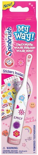 Arm & Hammer Spinbrush Kids My Way! Powered Toothbrush, 1ct
