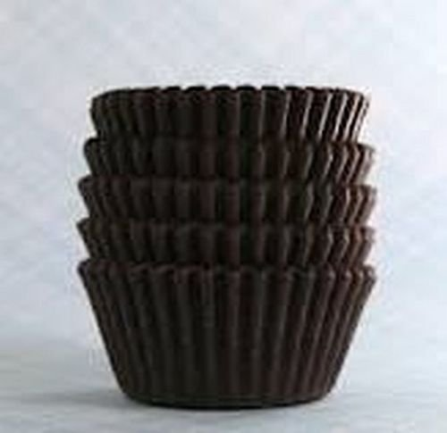 Chocolate Cups Brown Jumbo Large Size Cupcake Muffin Liners Paper Baking Cups Wrappers Pastry Tools 1-7/8