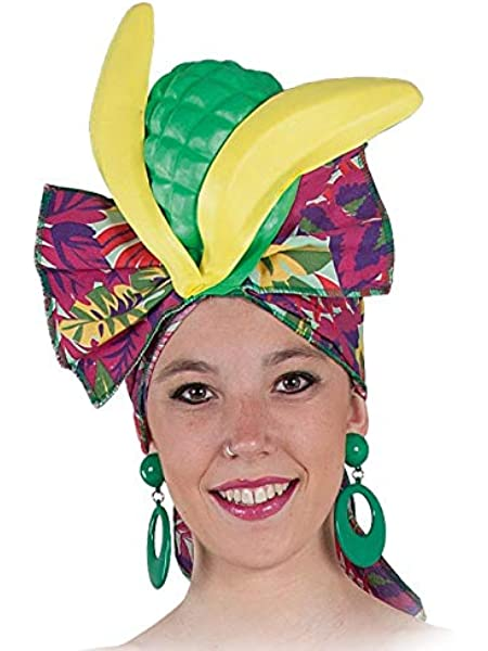 Bristol Novelty bh527 frutas accesorio para la cabeza, talla única ...