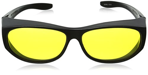 653bb1b84c38 Escort Safety Glasses Fits Over Most Prescription Eyewear Yellow ...