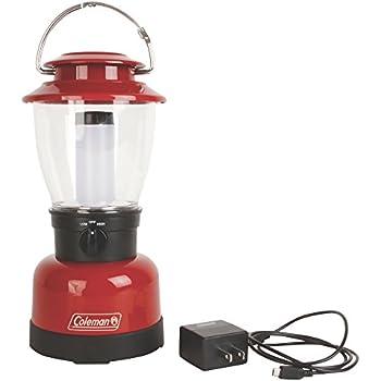 Amazon Com Coleman Lantern Rugged Rechargeable L Ion C002