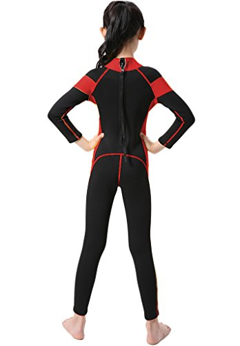 d3dfb84bcad Wetsuit One Piece Swimsuit for Kids Boys Girls UV Protection for Swim Surf  Snorkel Scuba Diving - unknown   Wetsuits   Sports   Outdoors - tibs