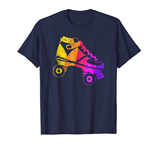 70s Roller Disco Shirt | Retro Roller Skate Party Wear]()