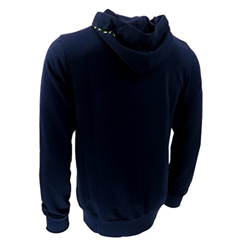 Valentino Rossi VR46 Large 46 Moto GP Hoodie Navy Official 2015