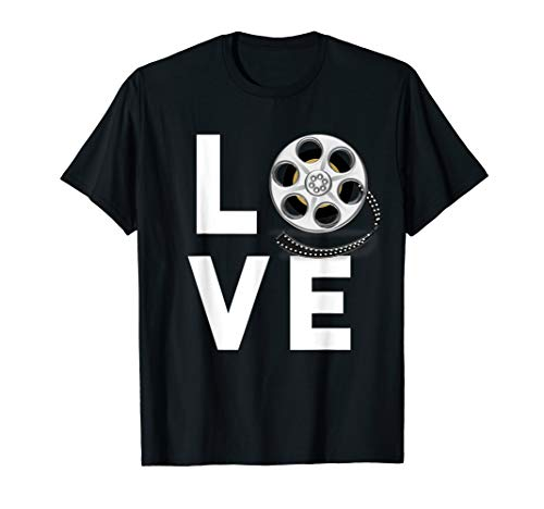 I Love Movies T-Shirt Gifts for Film Lovers, Students & (Best Poster Directors Posters)