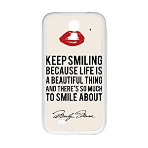 Keep Smiling Bestselling Hot Seller High Quality Case Cove For Samsung Galaxy S4