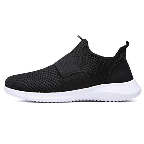 (JSPOYOU Men's Breathable Running Shoe Casual Shoes Sports Shoes)