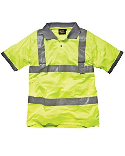 Dickies Hi-Vis Polo de manga corta de seguridad amarillo (Hi-Vis)