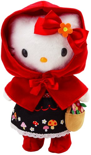 Japanese Sanrio Hello Kitty Dress-me Red Riding Hood. (Just the Outfit Dress, Doll Not Included)
