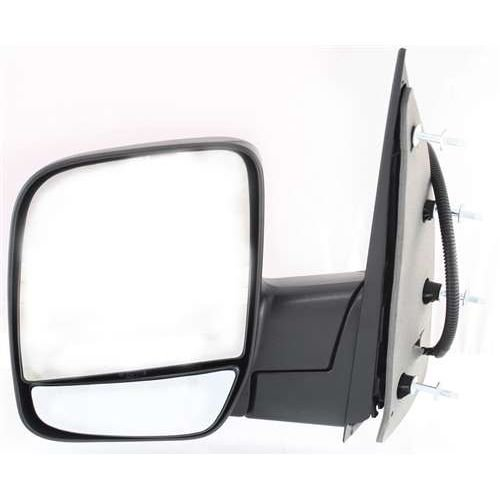 Make Auto Parts Manufacturing Left Side Textured Black Power Operated Manual Folding Non-Heated Door Mirror For Ford E150 2003-2006 / For Ford E-250 2003-2006 - FO1320254