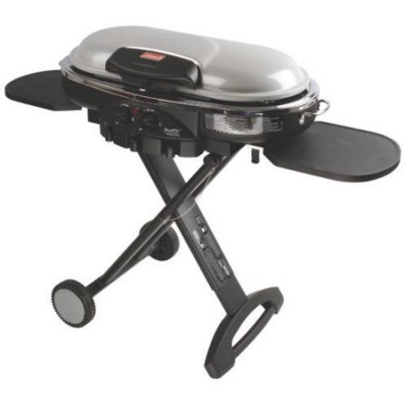 - Coleman RoadTrip LXE Portable 2-Burner Propane Grill - 20,000 BTU, Silver Color