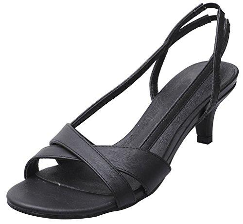 correa tobillo CFP negro mujer con de Zapatos qwCpCEI0