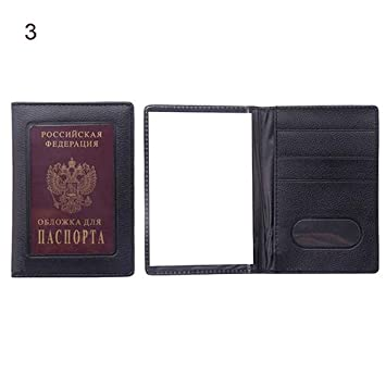 Prot/ège-Passeport Bleu Clair Taille Unique collectsound