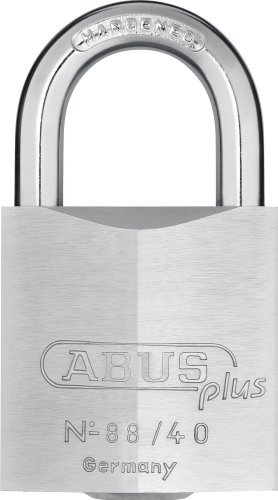 Abus Plus 88 Series Brass Padlock 40mm, Keyed -