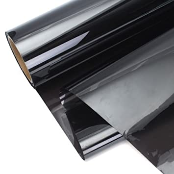 DNF Automotive Window Tint Film 1PLY Black Color 35/% /… Order $60/& UP Free Squeegee 50FT 24 X 50FT