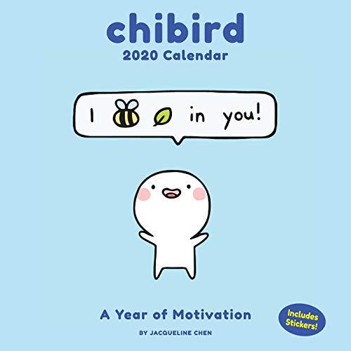 Chibird 2020 Wall Calendar: A Year of Motivation por Jacqueline Chen