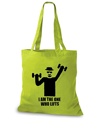 StyloBags Jutebeutel / Tasche I am the one who lifts Kiwi
