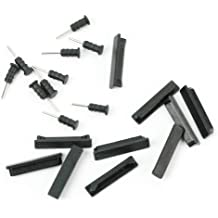 Refaxi 10 Anti-dust Dock Stopper Earphone Plug SIM Card Eject Pin Set For iphone 4 iPod