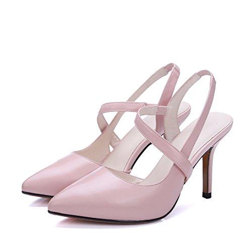 Chiusi Solid Rosa A Donna Voguezone009 Tacchi Spikes Spillo pqnHCf