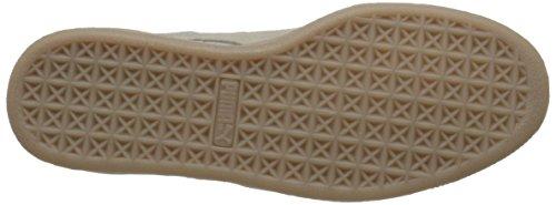 Zapatilla de deporte de la Costa Mín Puma Suede Classic Whisper White