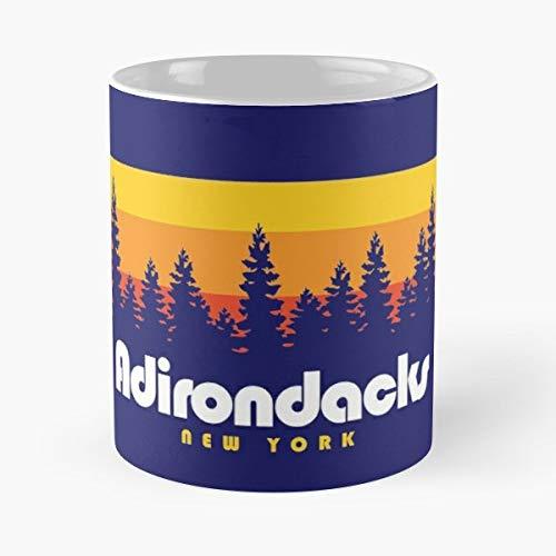 Adirondacks Dacks Gift Mountains - Funny Coffee Mug, Gag Gift Poop Fun Mugs