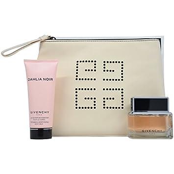 33ff8e5da Amazon.com : Givenchy Dahlia Noir 3 Piece Gift Set for Women( Eau de Parfum  Spray Plus Body Milk Plus Pouch ) : Body Scrubs : Beauty