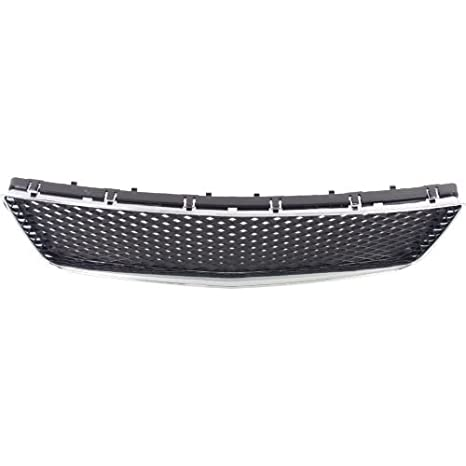 10333712 GM1036107 Front Bumper Grille New Chevy Chrome shell dark gray insert
